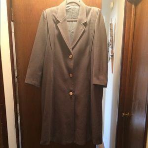 Genuine wool coat